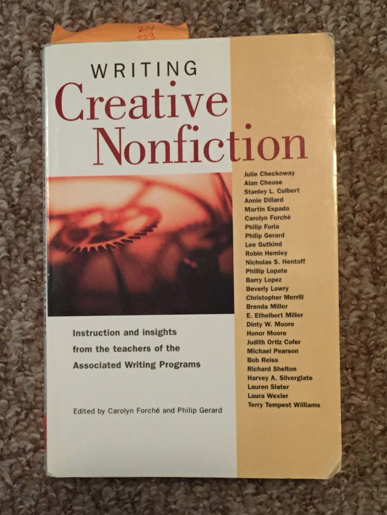 "We All Have ""Lots of Yesterdays"": How Creative Nonfiction Enlivens the Secondary Writing Classroom"
