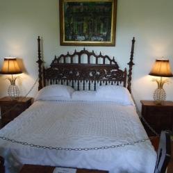 Hemingway's bed