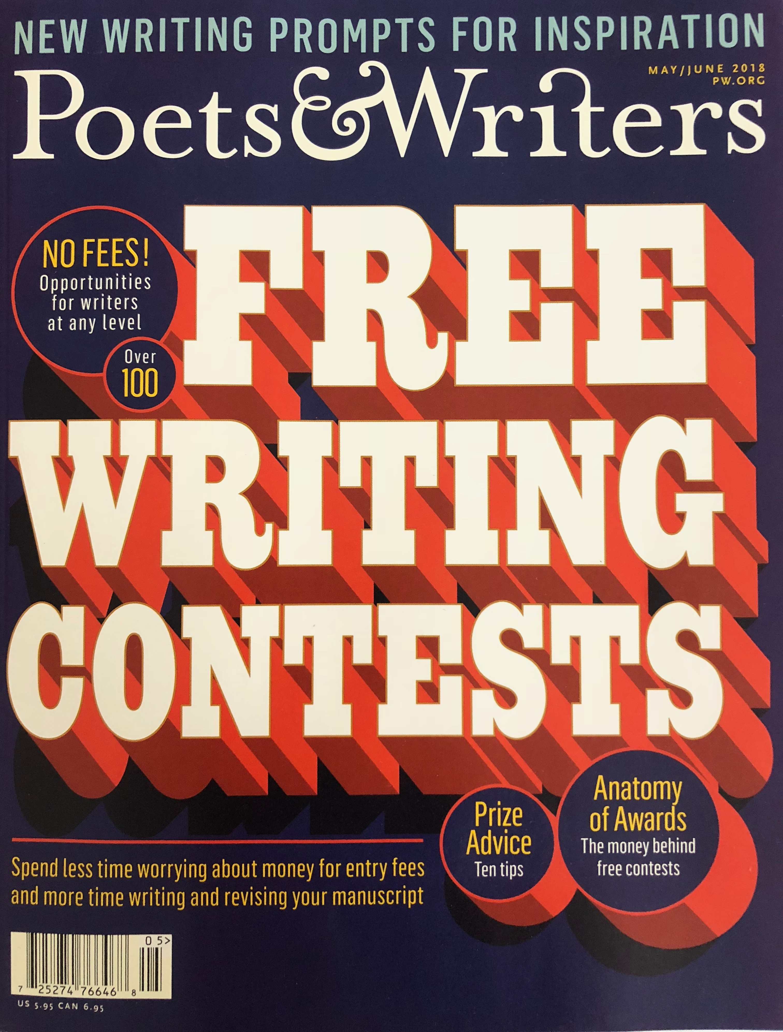 Submitting Your Writing to Literary Magazines and Contests