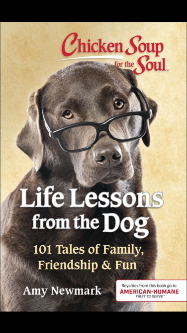 Jack and Sadie are featured in two other Chicken Soup for the Soul titles, Life Lessons from the Dog and Think Positive, Live Happy.